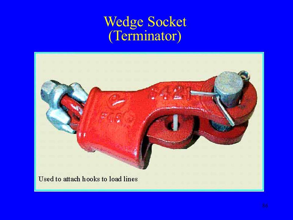 Wedge Socket (Terminator)