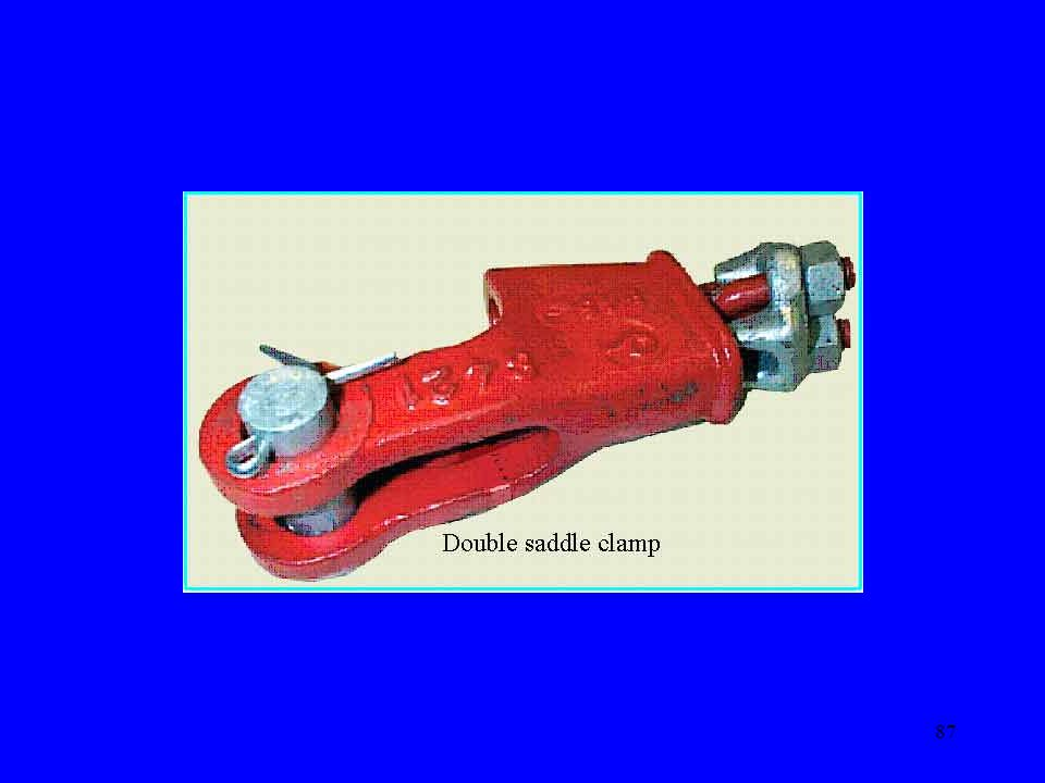 Wedge socket moves reseats itself and rope can be crushed causing failure of the rope.