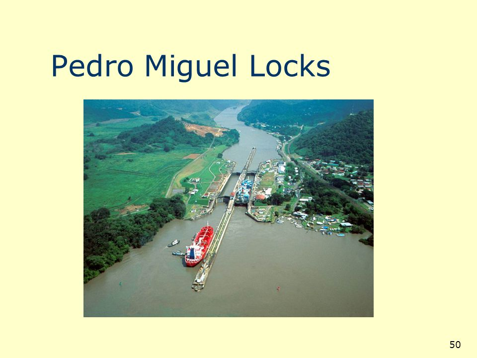 Pedro Miguel Locks