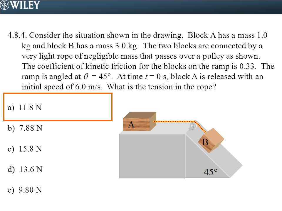 4. 8. 4. Consider the situation shown in the drawing