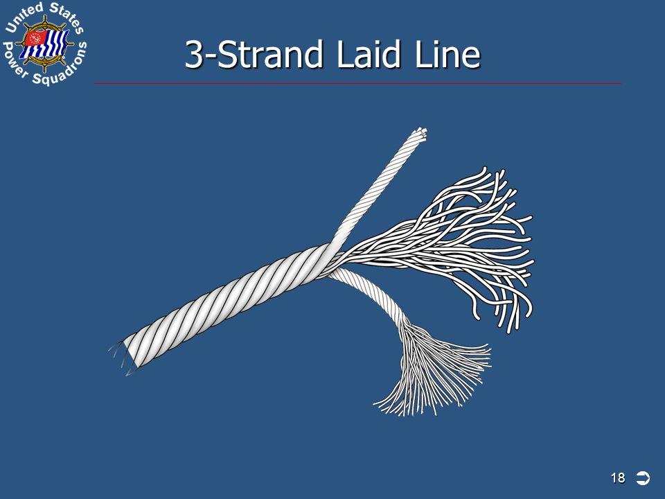 3-Strand Laid Line 