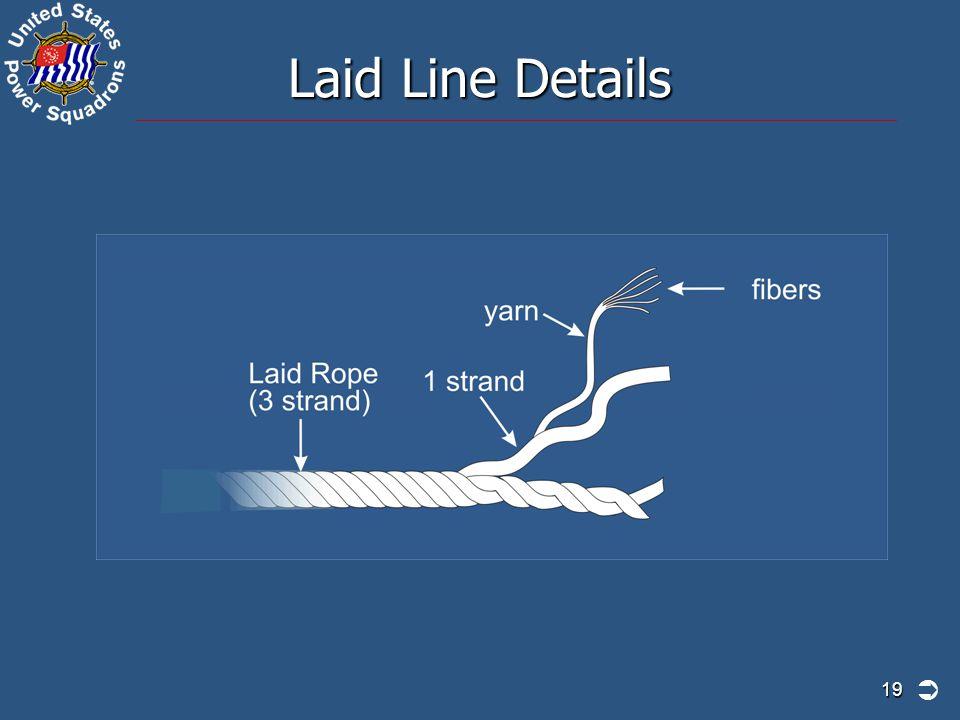 Laid Line Details 