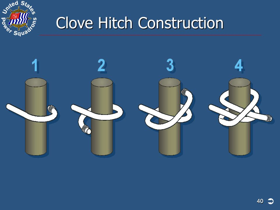 Clove Hitch Construction