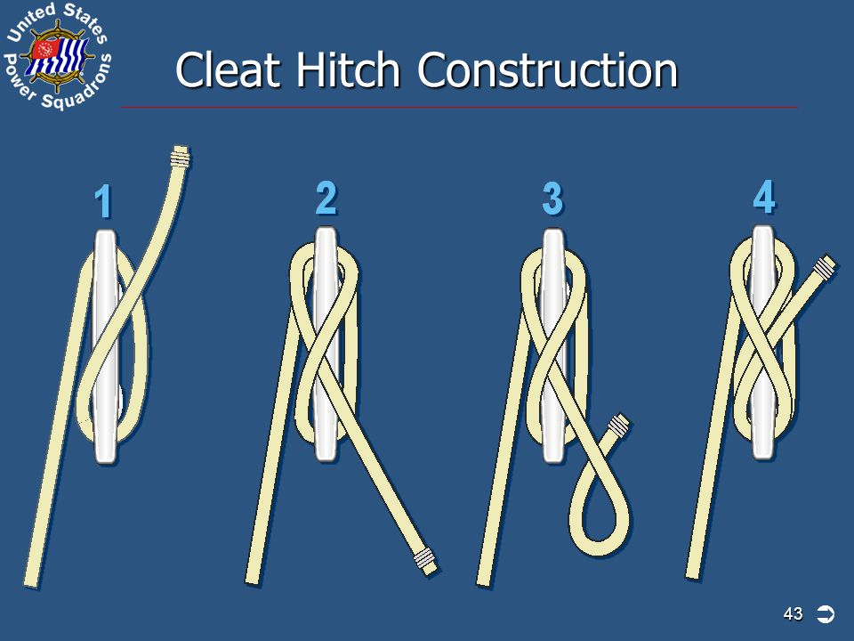 Cleat Hitch Construction