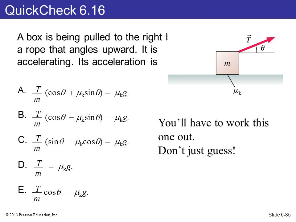 QuickCheck 6.16 You'll have to work this one out. Don't just guess!