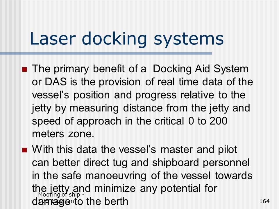Laser docking systems