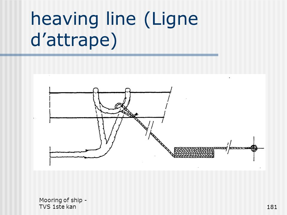 heaving line (Ligne d'attrape)