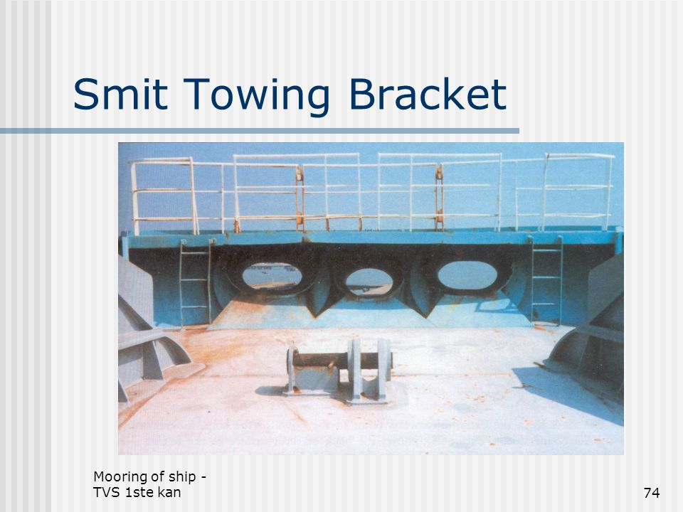 Smit Towing Bracket Mooring of ship - TVS 1ste kan
