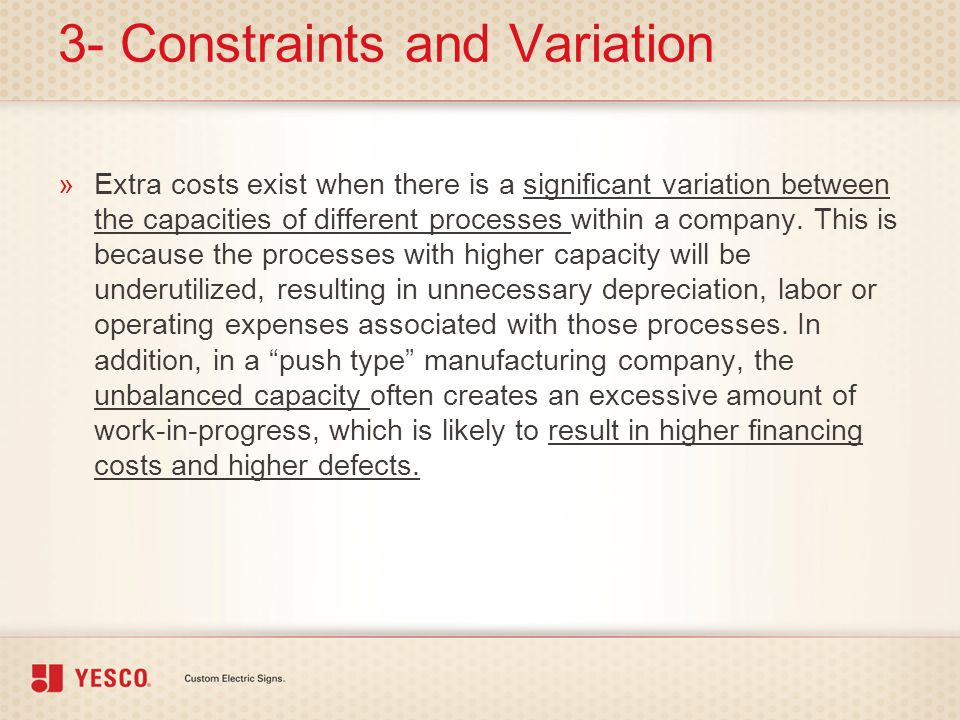 3- Constraints and Variation