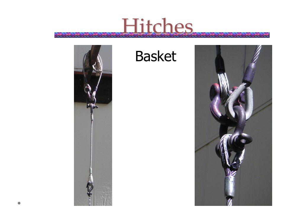 Hitches Basket
