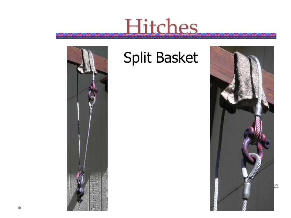 Hitches Split Basket