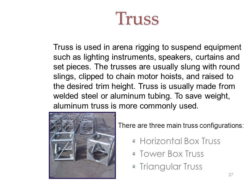 Truss Horizontal Box Truss Tower Box Truss Triangular Truss