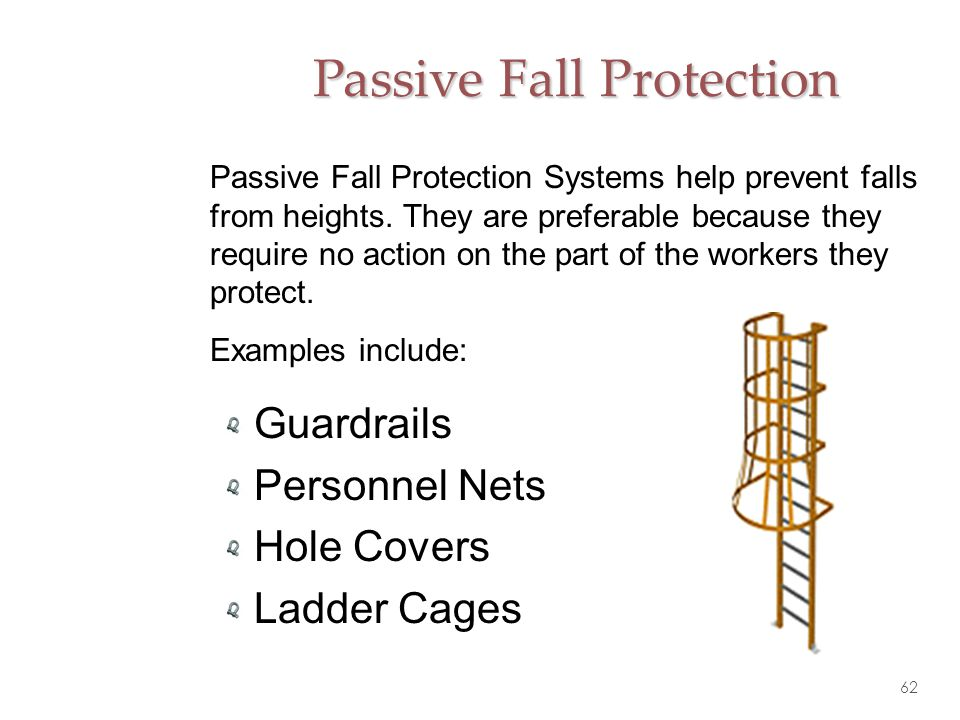 Passive Fall Protection