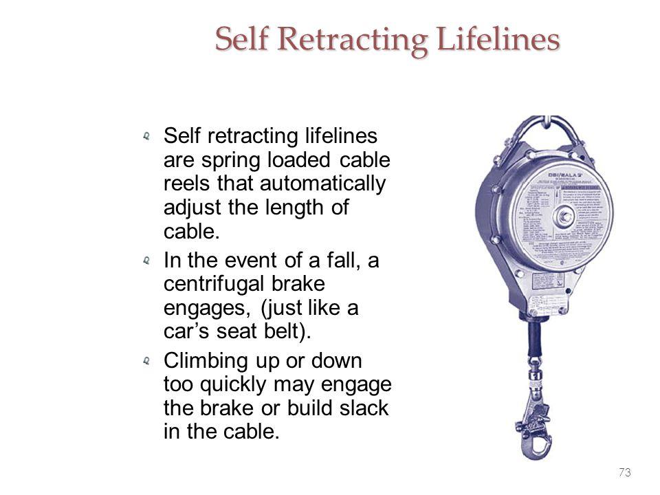 Self Retracting Lifelines