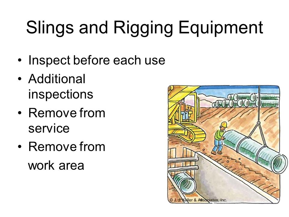 Slings and Rigging Equipment