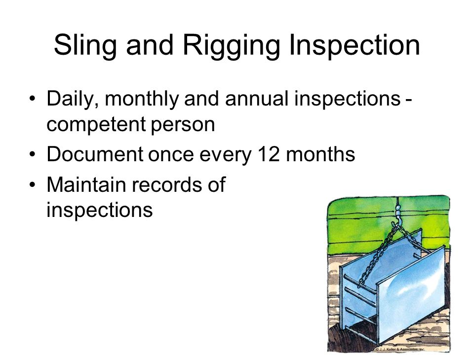 Contemporary Wire Rope Sling Inspection Collection - Schematic ...