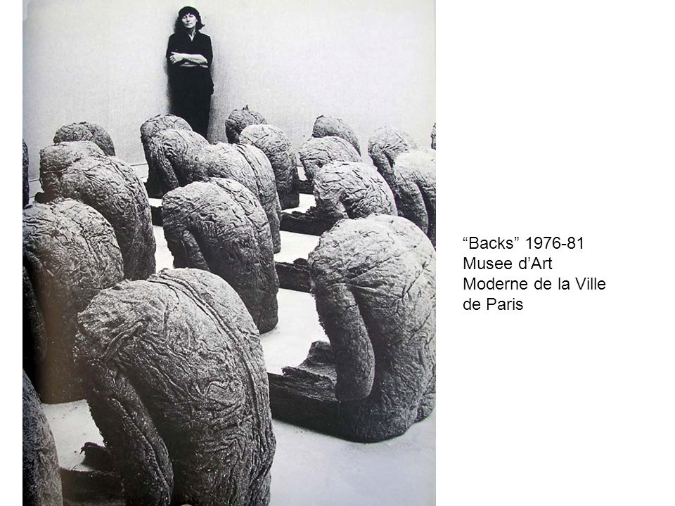 Backs 1976-81 Musee d'Art Moderne de la Ville de Paris