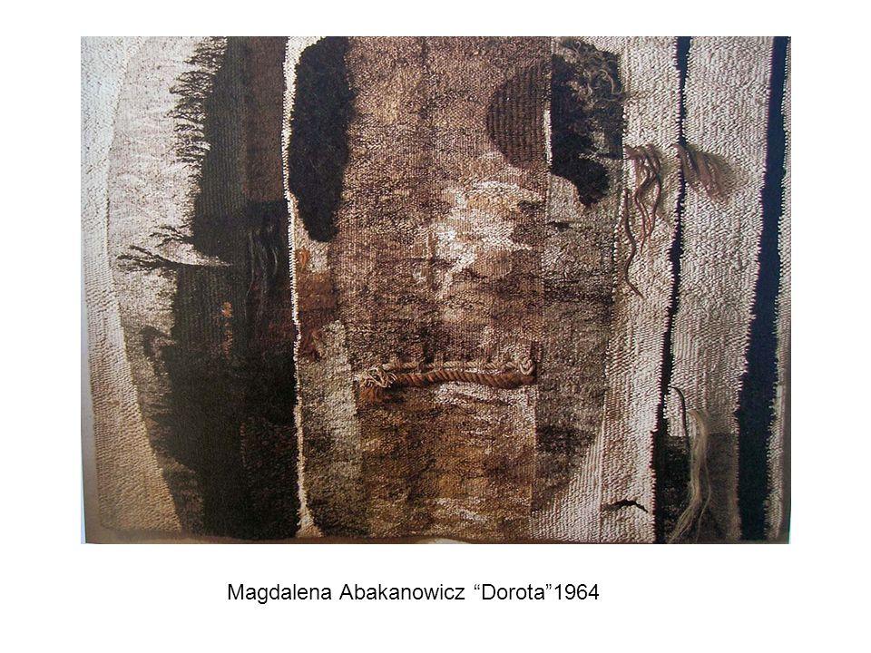 Magdalena Abakanowicz Dorota 1964