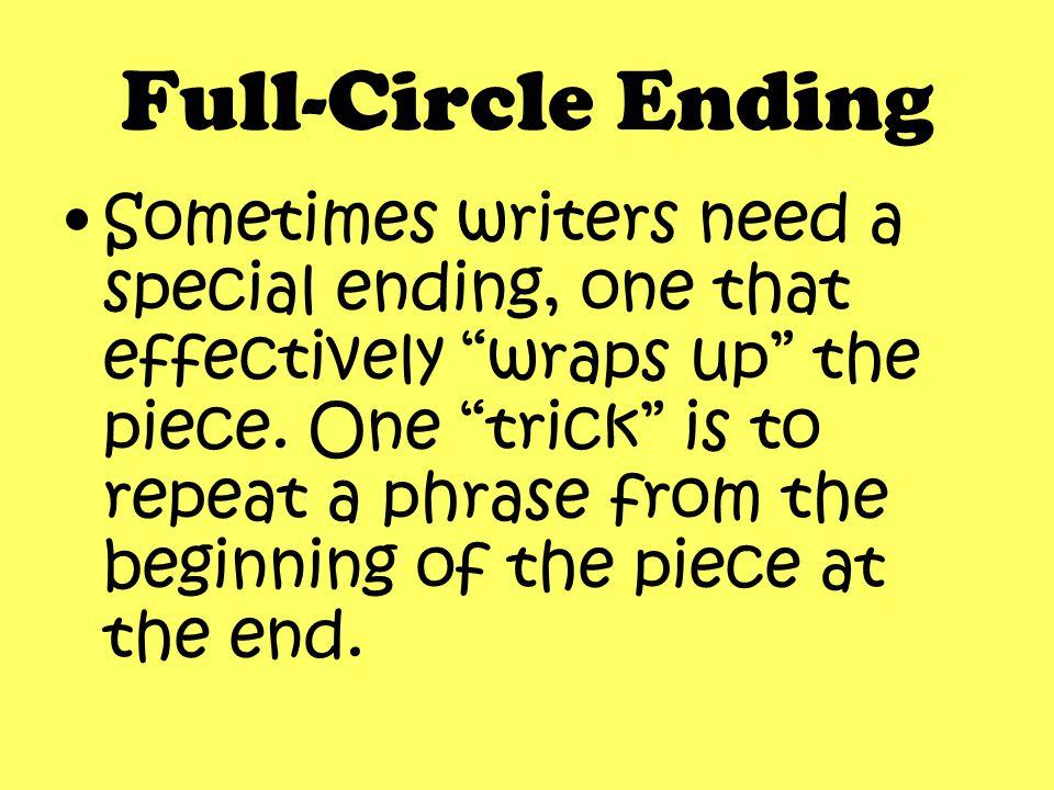 Full-Circle Ending