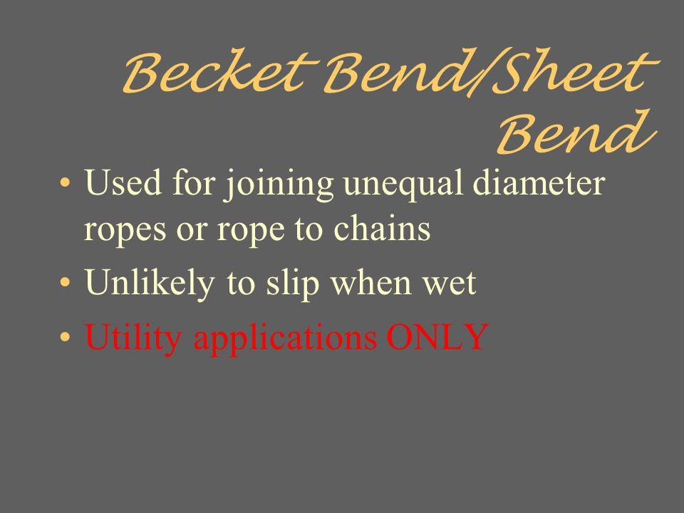 Becket Bend/Sheet Bend