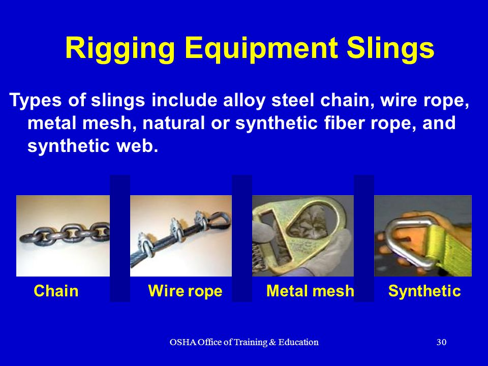 Rigging Equipment Slings