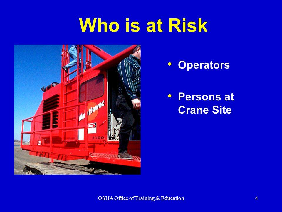 OSHA Office of Training & Education