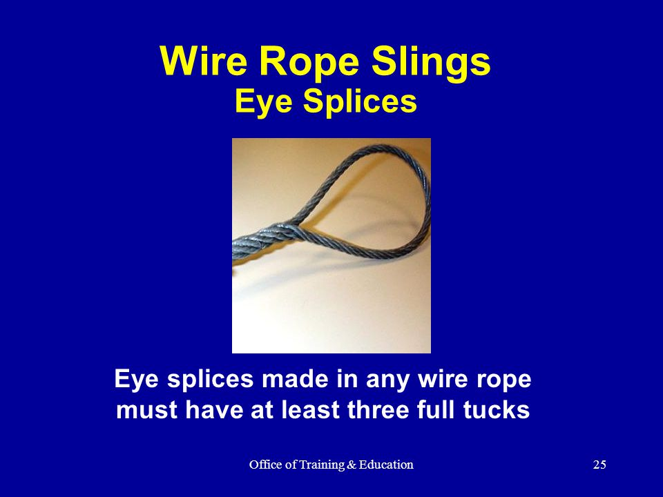 Wire Rope Slings Eye Splices