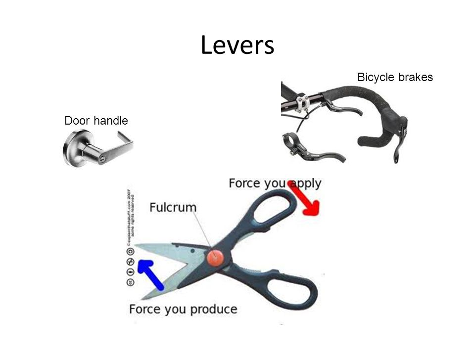 Levers Bicycle brakes Door handle