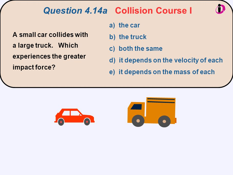 Question 4.14a Collision Course I