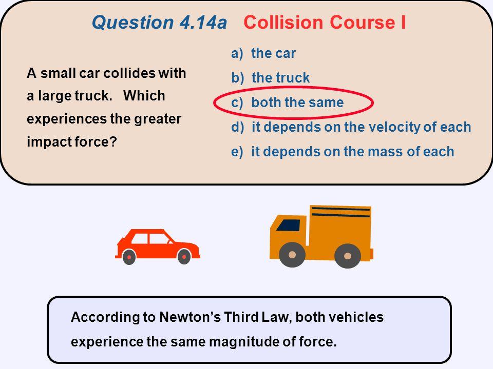 Question 4.14a Collision Course I