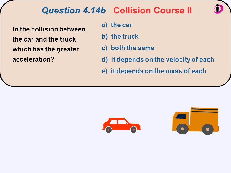 Question 4.14b Collision Course II