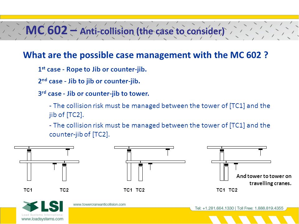 MC 602 – Anti-collision (the case to consider)