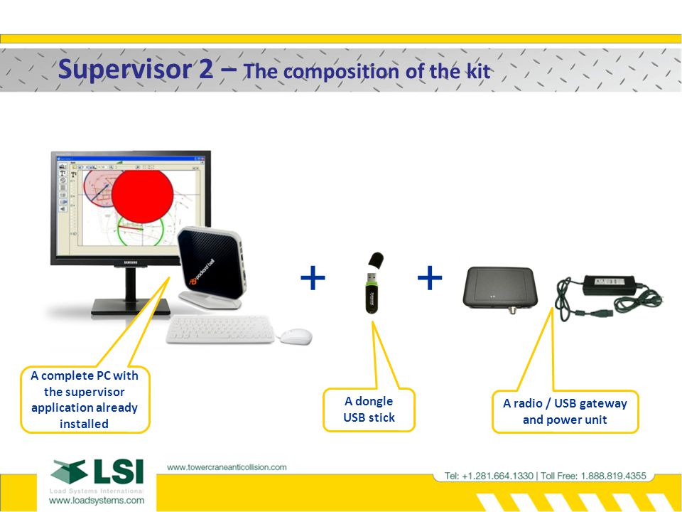 + + Supervisor 2 – The composition of the kit