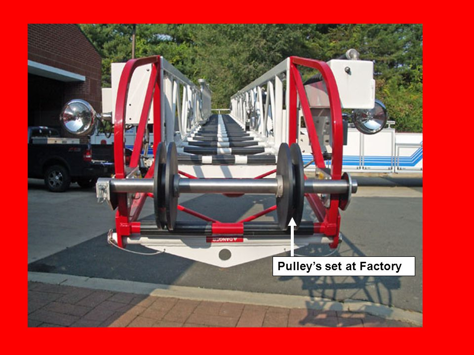 Pulley's set at Factory
