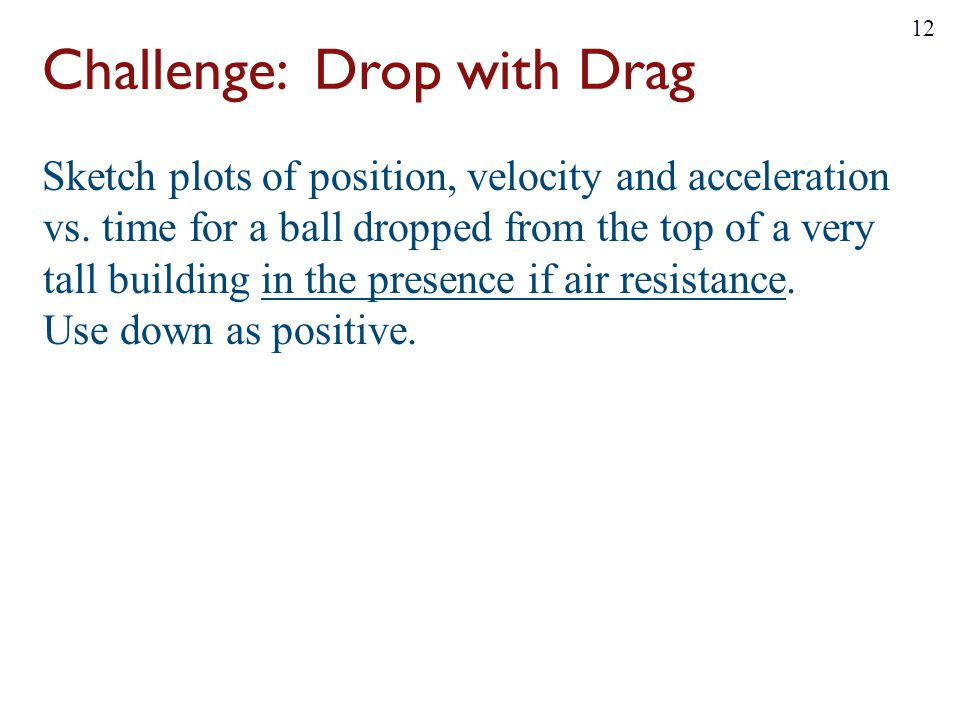 Challenge: Drop with Drag