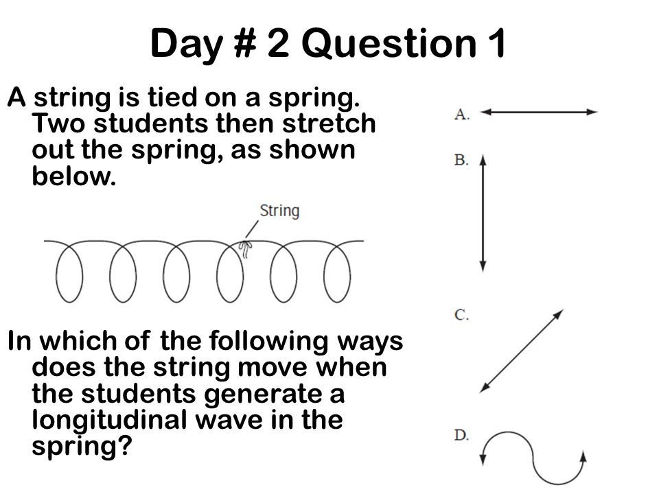 Day # 2 Question 1