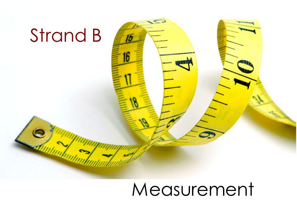 Strand B Measurement
