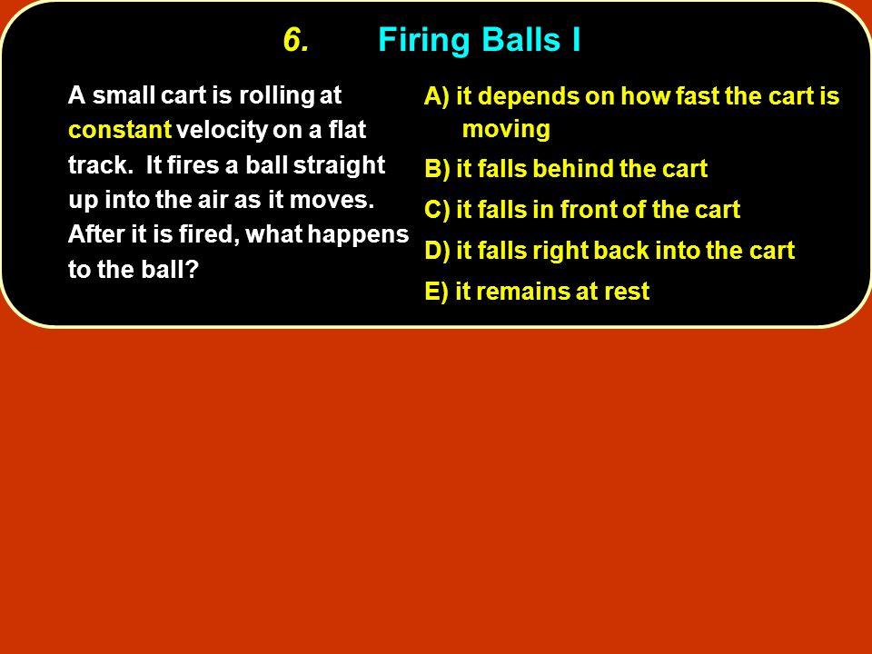 6. Firing Balls I