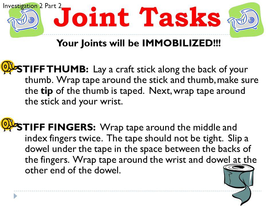 Investigation 2 Part 2 Joint Tasks.