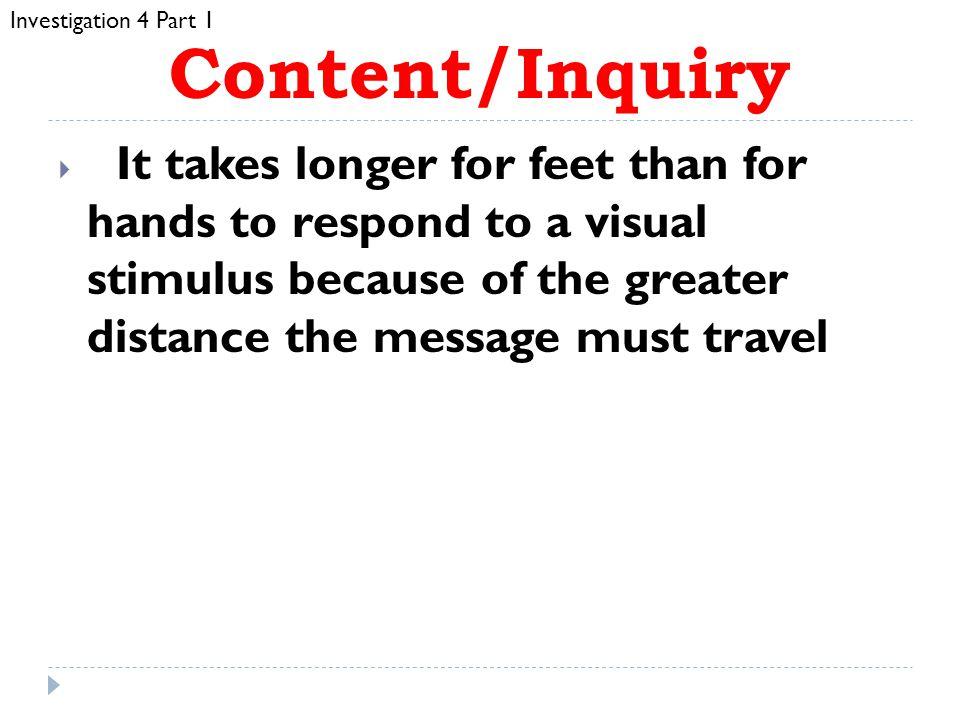 Investigation 4 Part 1 Content/Inquiry.