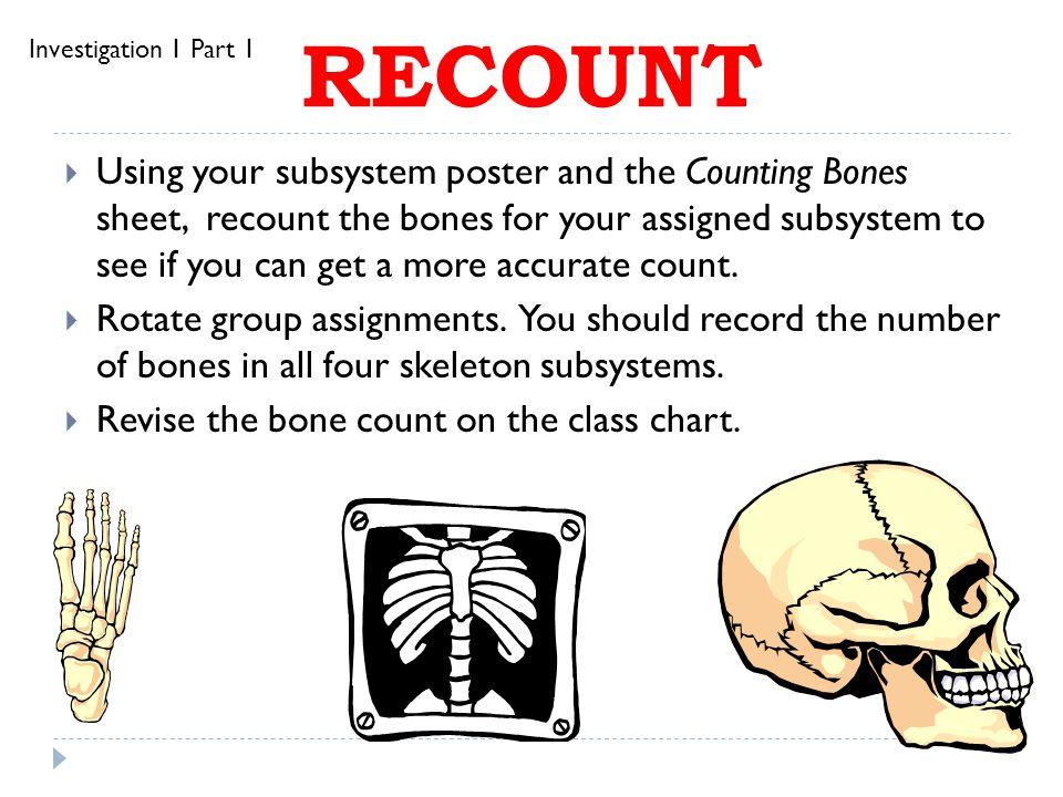 RECOUNT Investigation 1 Part 1.