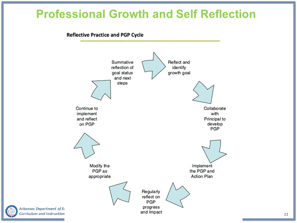 Professional Growth and Self Reflection