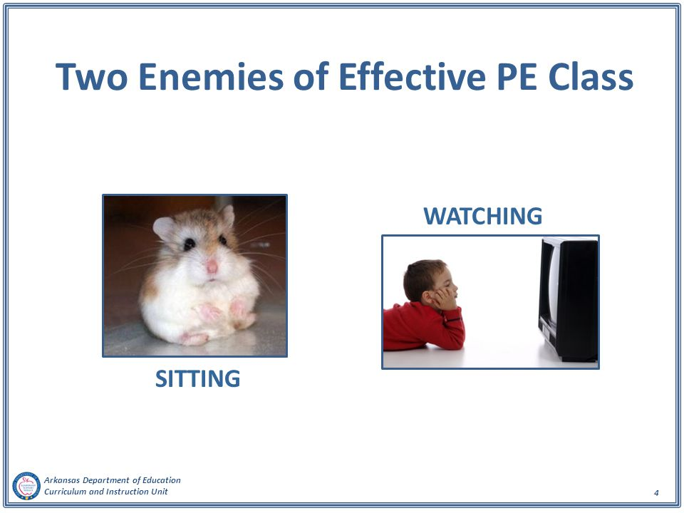 Two Enemies of Effective PE Class