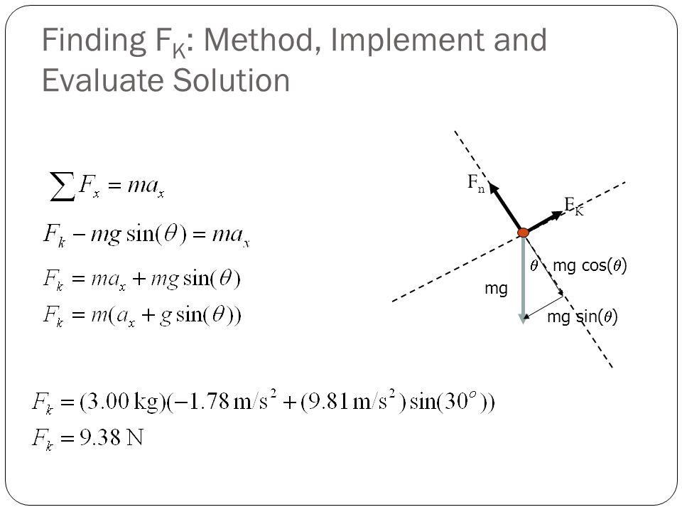 Finding FK: Method, Implement and Evaluate Solution