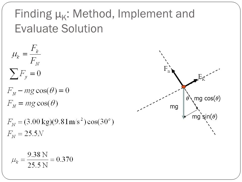 Finding μK: Method, Implement and Evaluate Solution