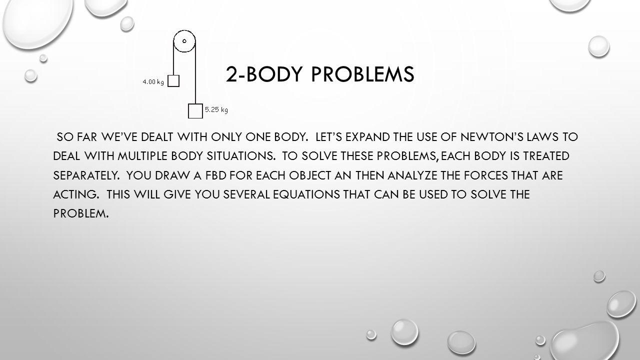 2-Body problems