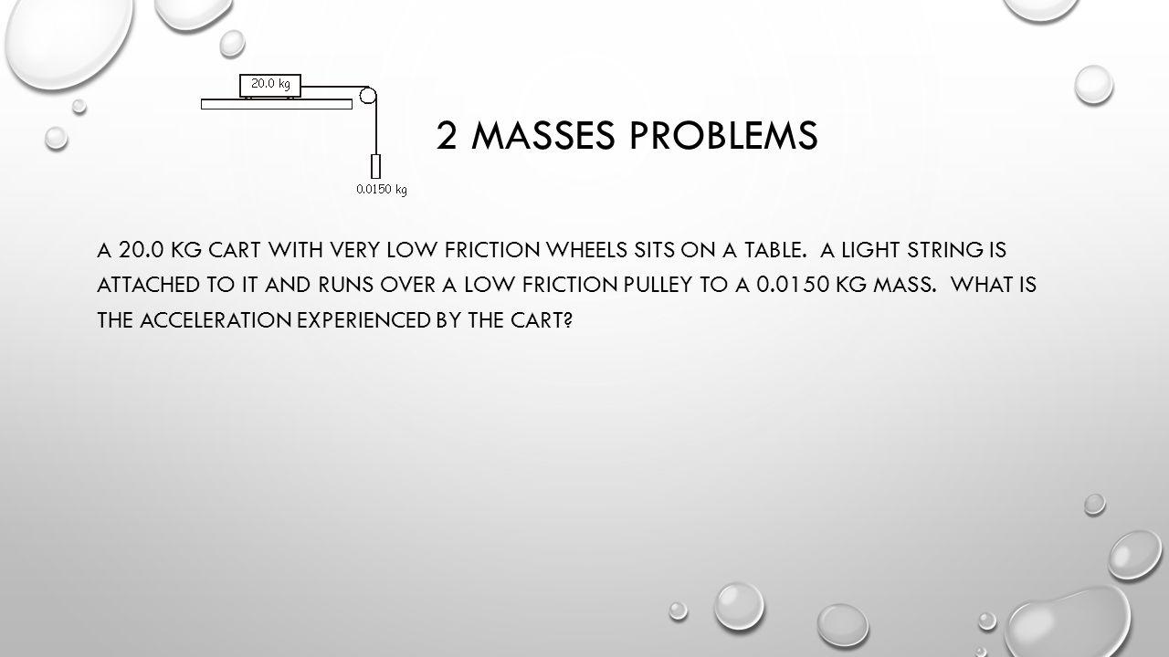 2 masses problems