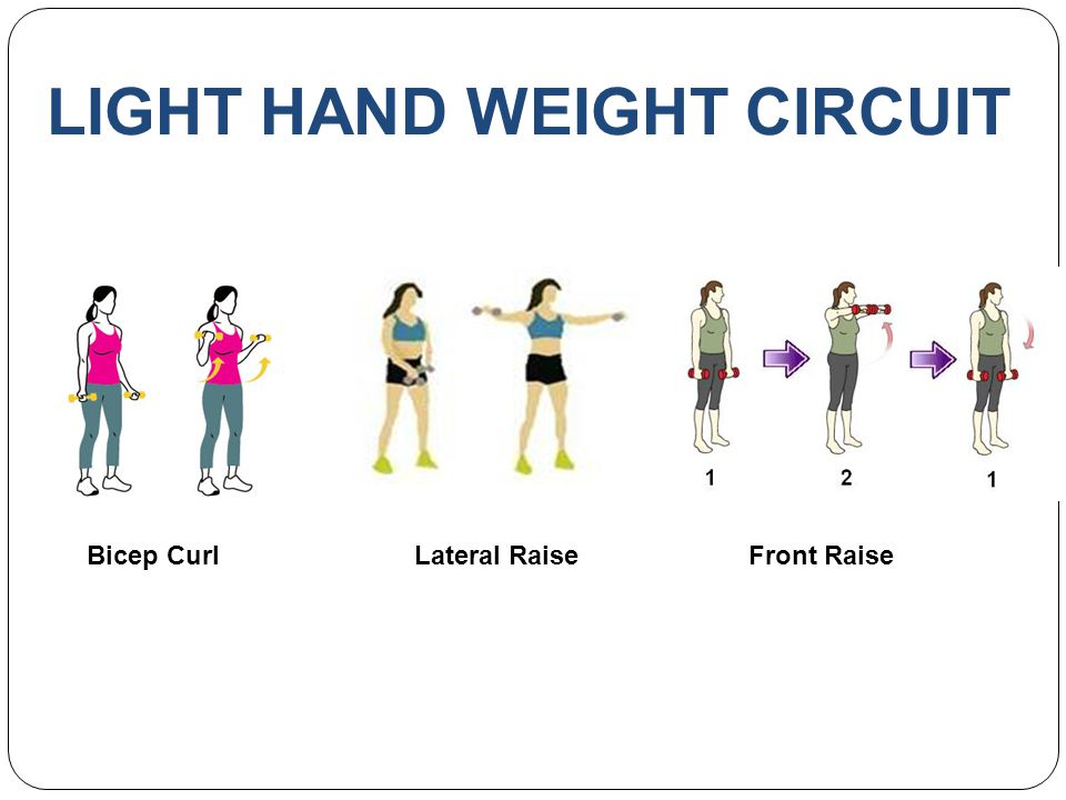 LIGHT HAND WEIGHT CIRCUIT