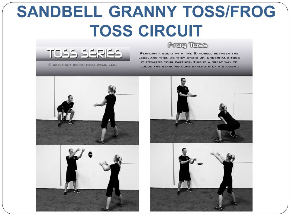 SANDBELL GRANNY TOSS/FROG TOSS CIRCUIT