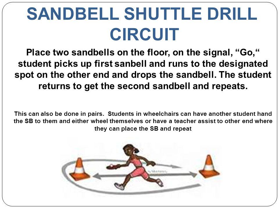 SANDBELL SHUTTLE DRILL CIRCUIT